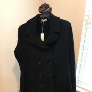 James Perse black women's coat